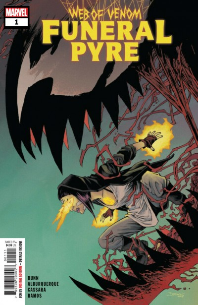 Web of Venom: Funeral Pyre (2019) #1 VF+ - VF/NM Absolute Carnage