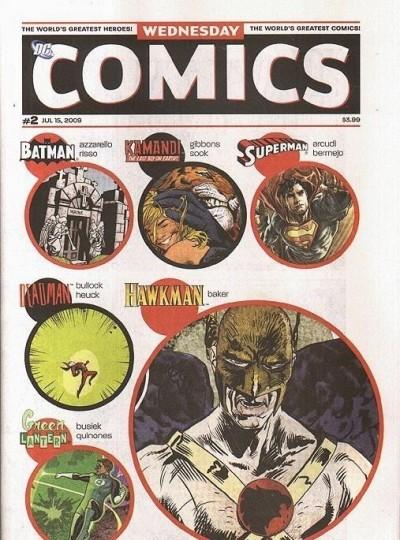 WEDNESDAY COMICS #2 OF 12 NM 1ST PRINTING DC SUPERMAN