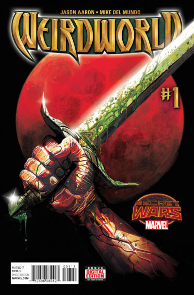 WEIRDWORLD (2015) #1 VF/NM SECRET WARS