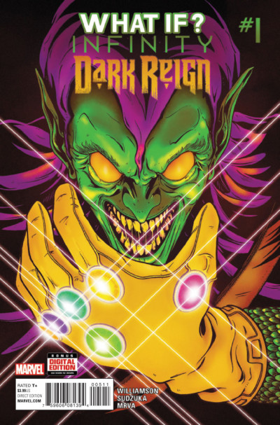 WHAT IF INFINITY - DARK REIGN  (2015) #1 VF/NM ONE-SHOT