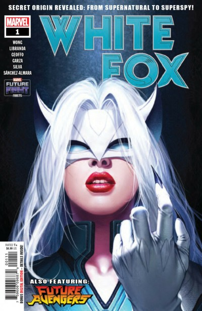 Future Fight Firsts: White Fox (2019) #1 VF/NM In-Hyuk Regular Cover