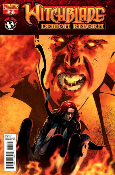 WITCHBLADE: DEMON REBORN #2 NM DYNAMITE TOP COW