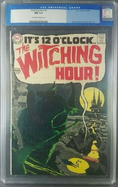 Witching Hour #1 CGC 9.4 NM Off White DC Horror 1st Issue 0015172017|