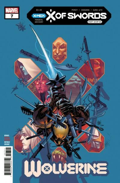 Wolverine (2020) #7 VF/NM Adam Kubert Cover X of Swords Chapter 16