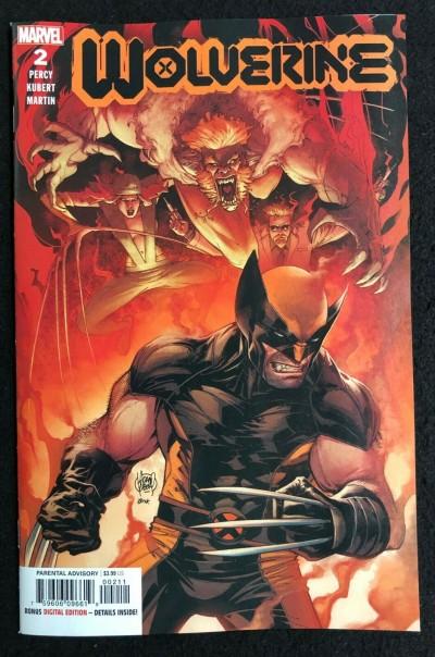 Wolverine (2020) #2 NM (9.4) Adam Kubert Cover