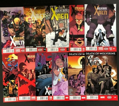 Wolverine & the X-Men (2014) #'s 1 2 3 4 5 6 7 8 9 10 11 Near Complete Run