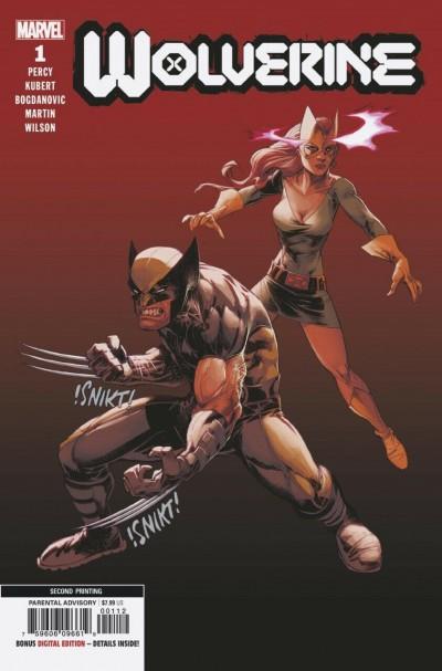 Wolverine (2020) #1 NM (9.4) Adam Kubert 2nd print variant