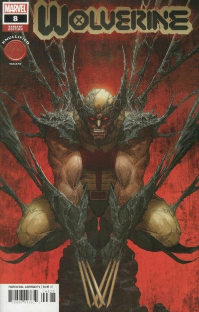 Wolverine (2020) #8 VF/NM Dave Rapoza Knullified Variant Cover
