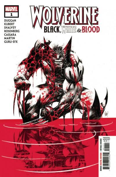 Wolverine: Black, White & Blood (2020) #1 of 4 VF/NM Adam Kubert Cover