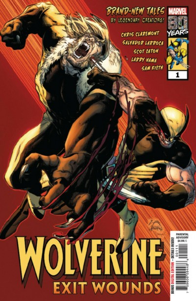 Wolverine Exit wounds (2019) #1 VF/NM (9.0) or better versus Sabretooth