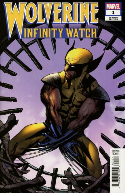 Wolverine: Infinity Watch (2019) #1 VF/NM-NM 1:25 Mike McKone Variant Cover