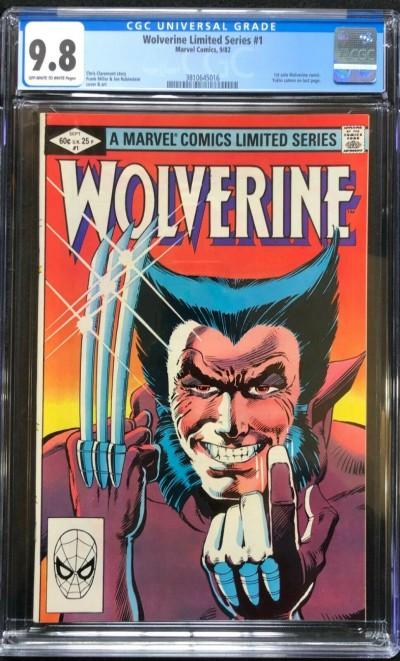 Wolverine Limited Series (1982) #1 CGC 9.8 Frank Miller (3810645016)