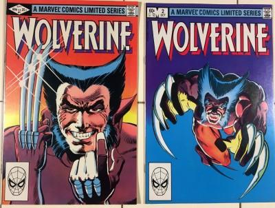 Wolverine Limited Series (1982) #1 2 3 4 VF+ (8.5) complete set Frank Miller