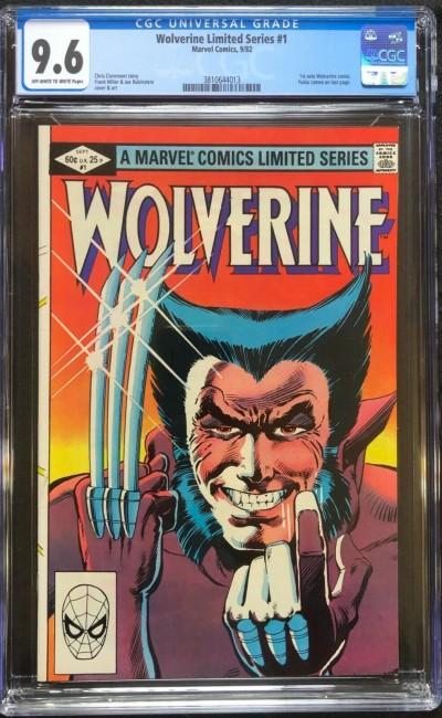 Wolverine Limited Series (1982) #1 CGC 9.6 Frank Miller (3810644013)
