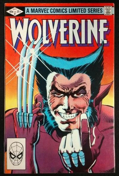 Wolverine Limited Series (1982) 1 2 3 4 VF+-VF/NM Complete Set Frank Miller Art