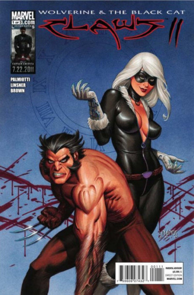 WOLVERINE & THE BLACK CAT: CLAWS II #1 OF 3 NM LINSNER