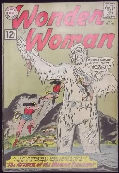 WONDER WOMAN (1942) #135 VG/FN WONDER GIRL