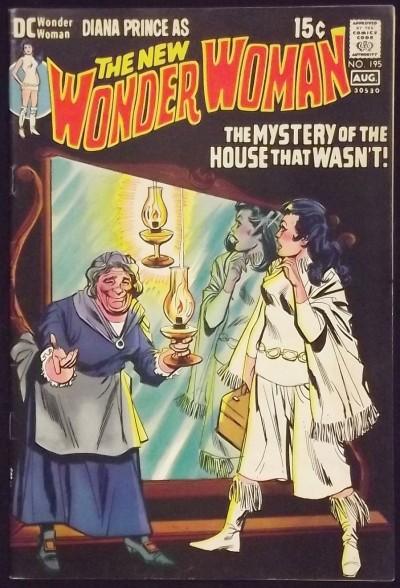 WONDER WOMAN (1942) #195 FN- NEW LOOK