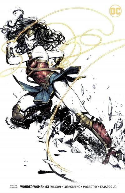Wonder Woman (2016) #63 VF/NM Karmome Shirahama Variant Cover DC Universe
