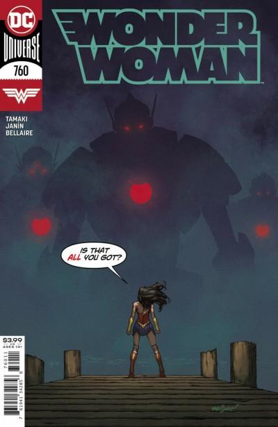 Wonder Woman (2016) #760 VF/NM David Marquez Cover