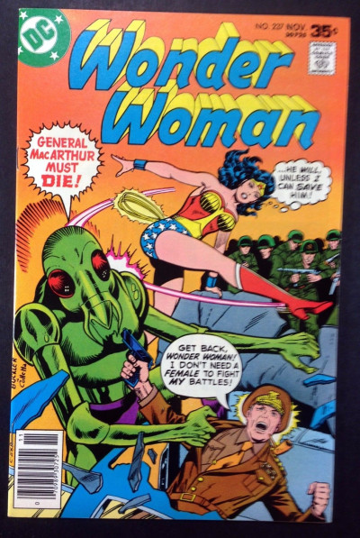 WONDER WOMAN (1942) #237 VF+ (8.5)  new World War ll story part 10 of 16