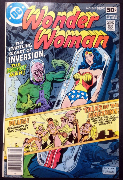 WONDER WOMAN (1942) #247 VF (8.0) Marvel Mystery Timely inspired cover