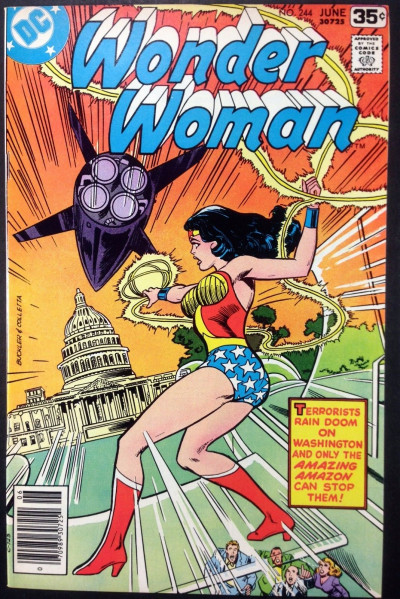 WONDER WOMAN (1942) #244 VF (8.0)