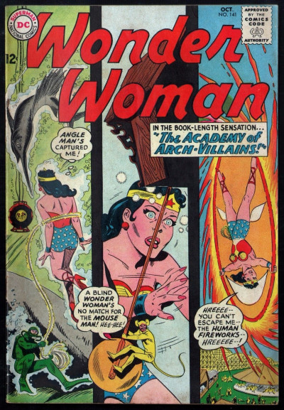 "Wonder Woman (1942) #141 VG/FN  (5.0) ""Academy of Arch-Villains"""