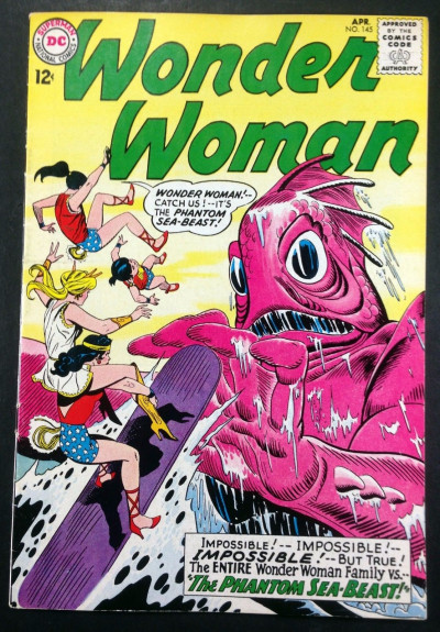 Wonder Woman (1942) #145 FN/VF (7.0) Wonder Woman family