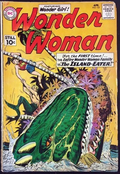 Wonder Woman (1942) #121 GD- (1.8) 1st app Wonder Woman Family