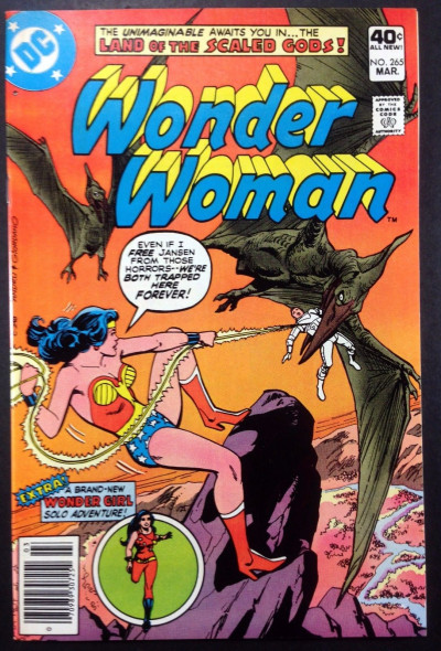 WONDER WOMAN (1942) #265 VF+ (8.5) Wonder Girl solo story