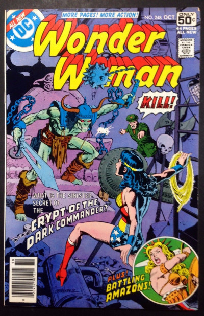 WONDER WOMAN (1942) #248 VF- (7.5) Dark Commander