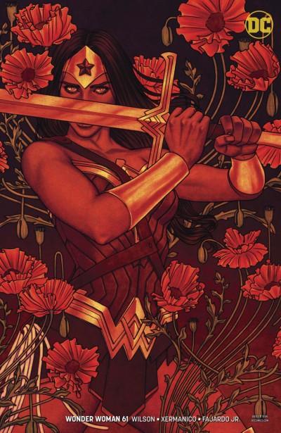 Wonder Woman (2016) #61 VF/NM Jenny Frison Cover DC Universe