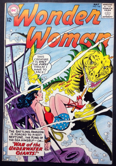 Wonder Woman (1942) #146 FN/VF (7.0)