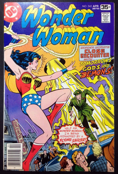 WONDER WOMAN (1942) #242 (7.0) new World War ll story part 15 of 16