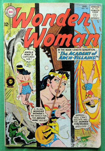 Wonder Woman (1942) #141 VG (4.0)