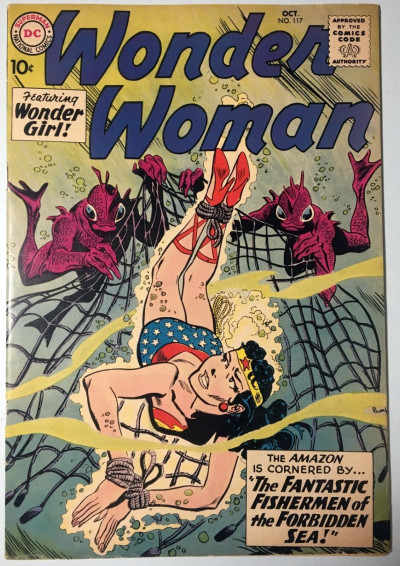 Wonder Woman (1942) #117 VG (4.0) nice eye appeal