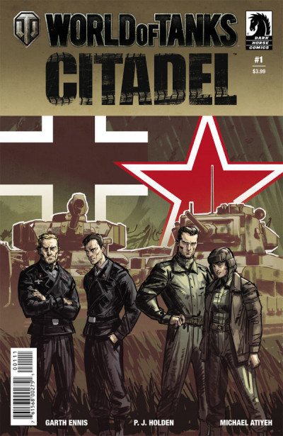 World of Tanks II: Citadel (2018) #1 VF/NM Garth Ennis Dark Horse Comics