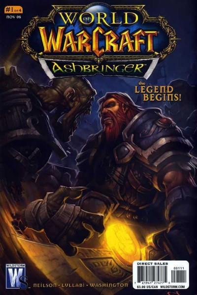 World of Warcraft: Ashbringer (2008) #1 VF/NM Chris Robinson Cover Wildstorm