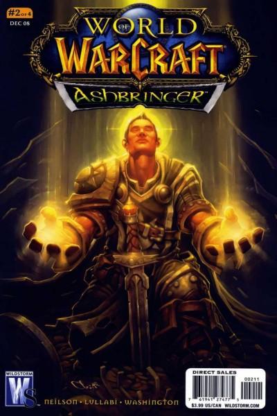 World of Warcraft: Ashbringer (2008) #2 VF/NM Chris Robinson Cover Wildstorm