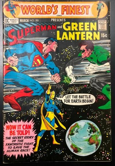 World's Finest (1941) #201 FN+ (6.5) Green Lantern