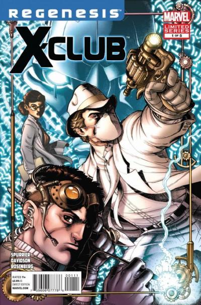 X-CLUB (2011) #1 OF 5 REGENESIS VF/NM