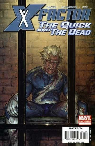 X-FACTOR: THE QUICK AND THE DEAD #1 VF- PETER DAVID
