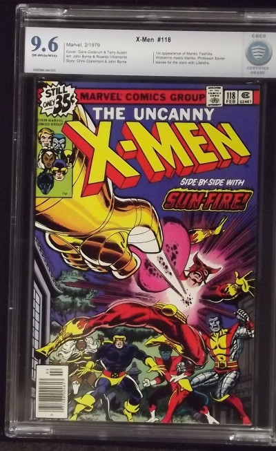 X-MEN #118 CBCS 9.6 GRADED 1ST APP MARIKO MEETS WOLVERINE NOT CGC