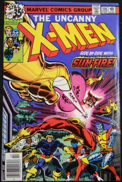X-MEN #118 VF-