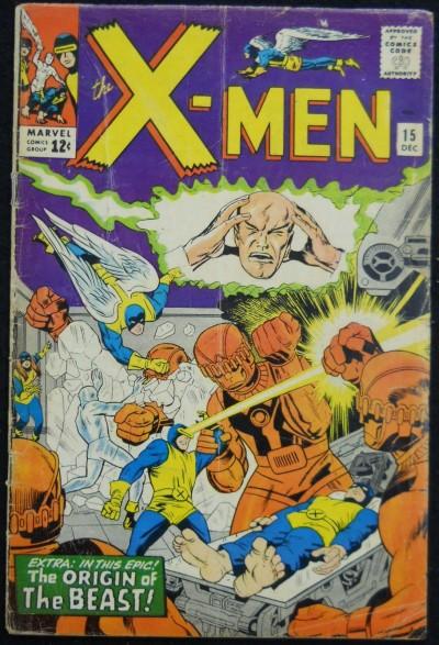 X-MEN #15 VG ORIGIN BEAST