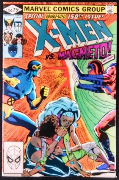 X-MEN #150 FN+ VS MAGNETO
