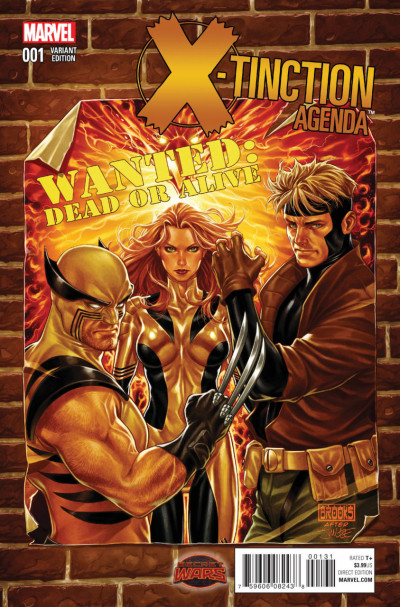 X-TINCTION AGENDA (2015) #1 VF/NM MARK BROOKS VARIANT COVER SECRET WARS