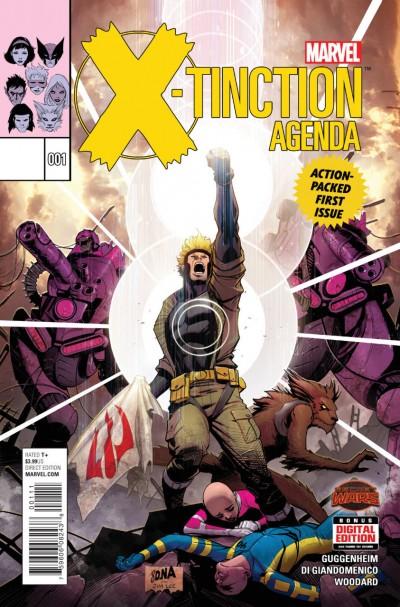 X-TINCTION AGENDA (2015) #1 VF/NM SECRET WARS