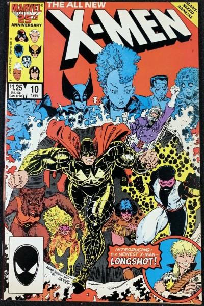 X-Men (1963) Annual #10 VF- (7.5) Longshot